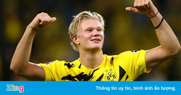 Haaland giành giải Golden Boy 2020