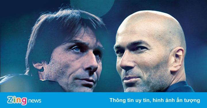 Inter vs Real Madrid - không còn đường lùi cho Zidane và Conte
