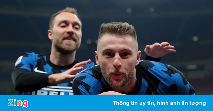 Inter Milan tái lập khoảng cách 10 điểm với Juventus - mega 645