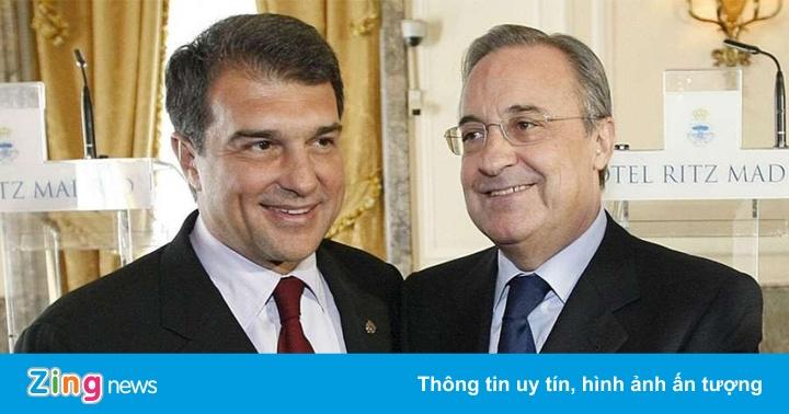Chủ tịch Barca làm lộ thông tin vụ Super League