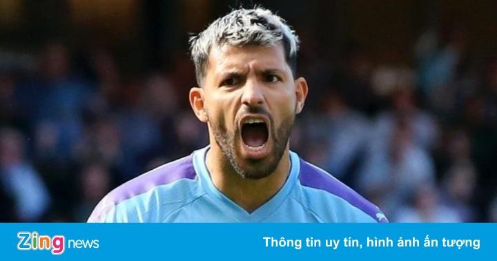 Aguero lập kỷ lục tại Man City