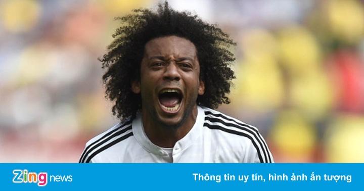 Marcelo bị Zidane loại khỏi đội hình Real Madrid