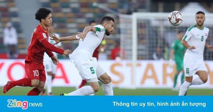 Việt Nam vs Iraq (0-0, H1): Công Phượng không thể đưa bóng cho Văn Đức