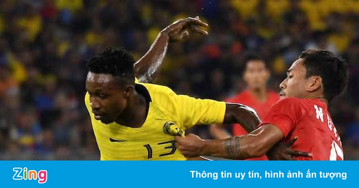 AFF CUP 2018: Cầu thủ nhập tịch Sumareh chấn thương, vẫn nỗ lực ra sân cùng Malaysia - Bóng đá
