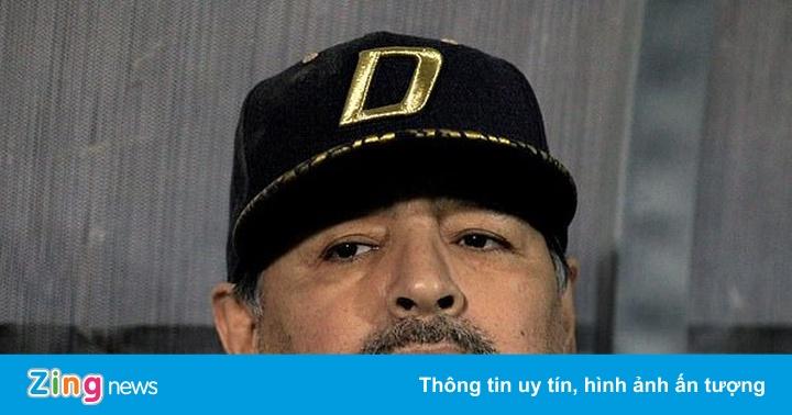 Huyền thoại Maradona nhập viện khẩn cấp vì xuất huyết dạ dày