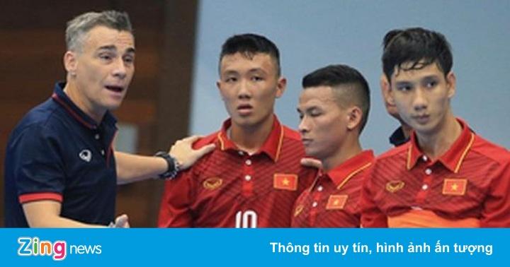 Tuyển futsal Việt Nam hội quân, hướng đến suất dự giải châu lục