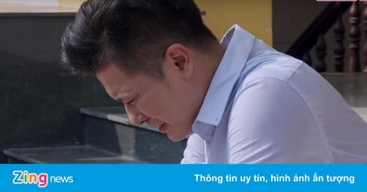 'Gạo nếp gạo tẻ' tập 71: Công bật khóc nức nở sau khi ly hôn Hương