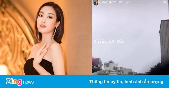 Diệu Nhi, cầu thủ Quang Hải bất ngờ khi gặp mưa lớn ngày 30 Tết