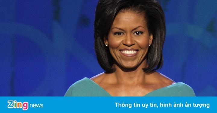 Bà Obama không dùng máy nhắc chữ khi vận động tranh cử cho chồng