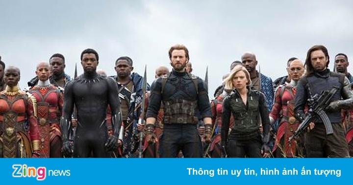 'Avengers: Infinity War' đạt 100 tỷ nhanh nhất Việt Nam sau 5 ngày - Phim  chiếu rạp - ZING.VN