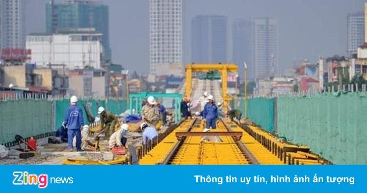 Hàng trăm công nhân bỏ việc vì đường sắt Cát Linh chậm tiến độ