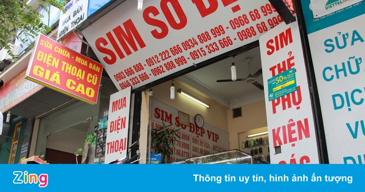 Viettel, MobiFone và VinaPhone ngừng bán SIM hòa mạng mới tại đại lý