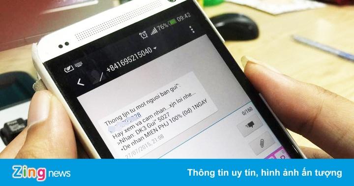 Một người ở Hà Nội bị xử phạt vì nhắn tin môi giới bất động sản