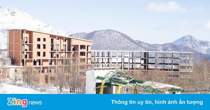 Khu trượt tuyết trên dãy Alps biến thành ''làng ma'' vì biến đổi khí hậu