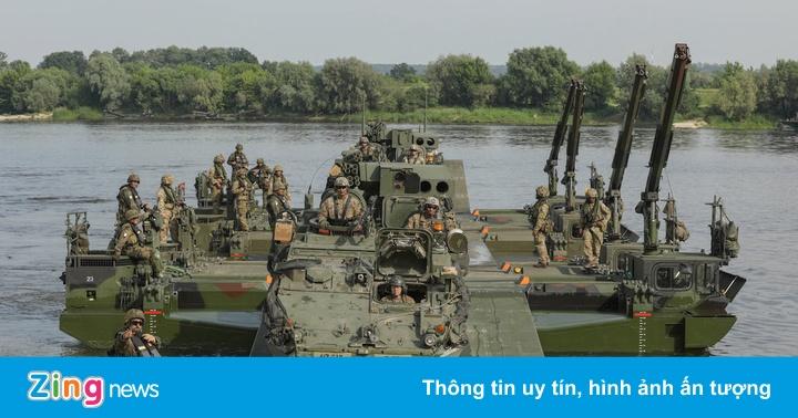 50.000 binh sĩ NATO bắt đầu tập trận lớn nhất từ sau Chiến tranh Lạnh