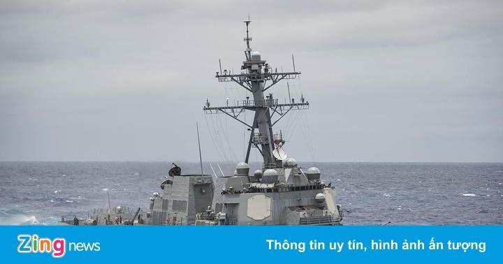 Các chiến hạm Mỹ và ASEAN cử đến cuộc tập trận hàng hải đầu tiên