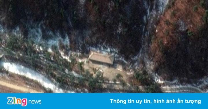 Ảnh vệ tinh tiết lộ đường hầm bí mật của Triều Tiên - giá vàng 9999 hôm nay 1311
