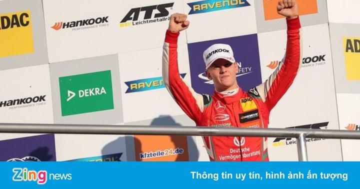 Con trai Michael Schumacher sẽ gia nhập làng đua xe F1