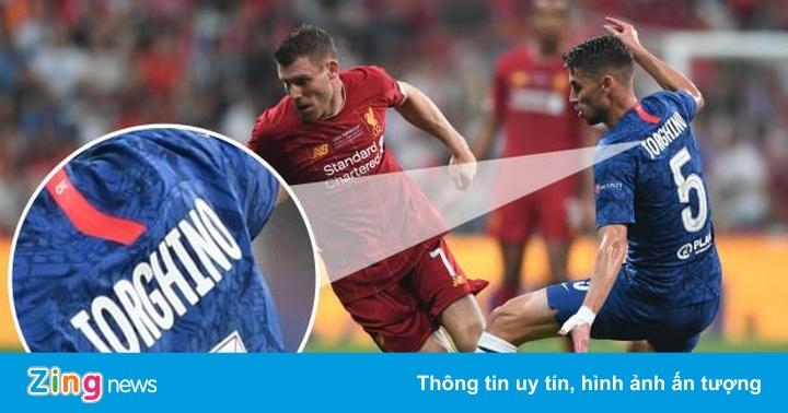 CĐV bất ngờ khi Chelsea ra mắt 'tân binh' ở trận tranh siêu cúp