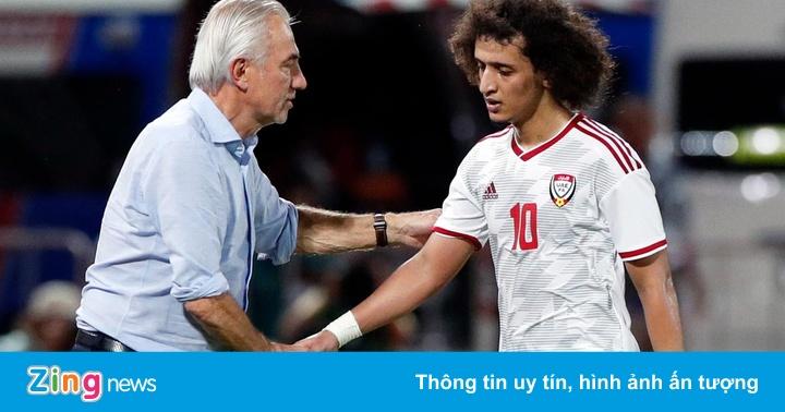 UAE - từ vị thế ứng viên tới đội bóng phải chơi tất tay