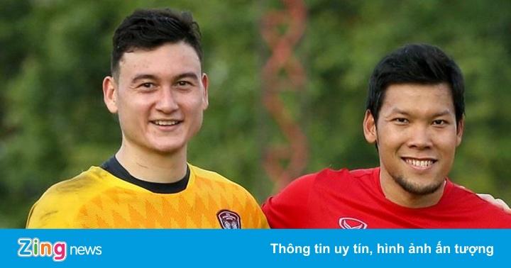 Thủ môn số một Thái Lan tập cùng Văn Lâm trước ngày đấu tuyển Việt Nam