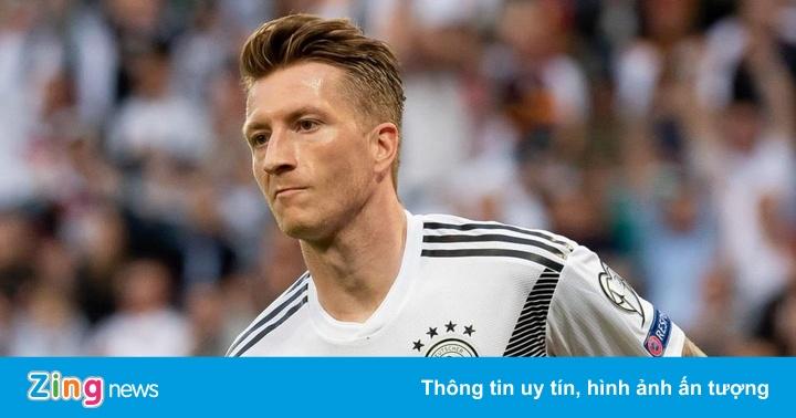 Marco Reus lập cú đúp, tuyển Đức hủy diệt Estonia 8-0