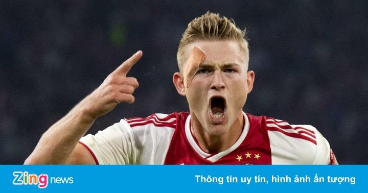 'De Ligt gạt Barca để gia nhập PSG là tin tức giả mạo'