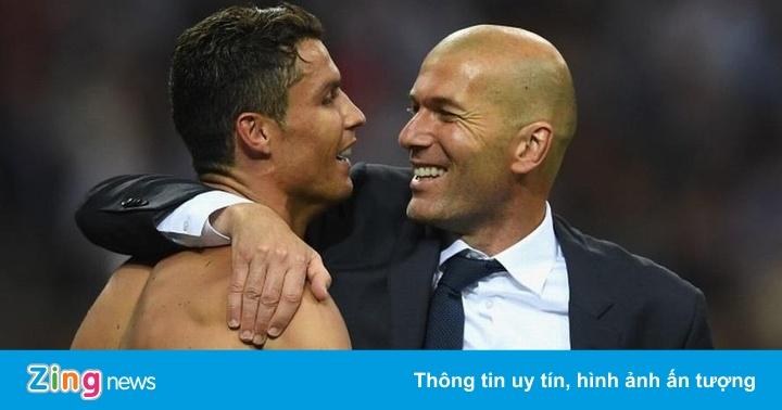 Ronaldo tiết lộ yếu tố giúp HLV Zidane thành công ở Real