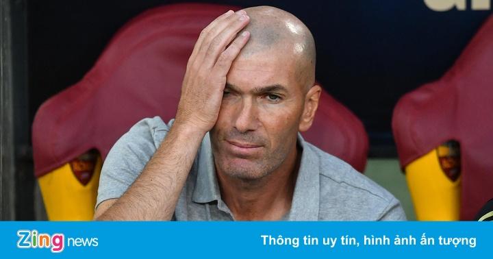 HLV Zidane ngán ngẩm khi bàn chuyện Neymar sang Real