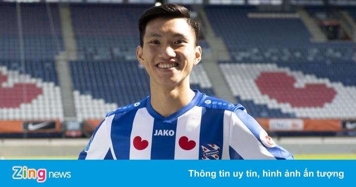 CĐV Hà Lan chờ Văn Hậu thể hiện tài năng ở Heerenveen