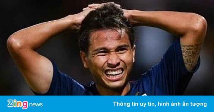 Tuyển Thái Lan nhận tin xấu trước ngày gặp Malaysia, Việt Nam