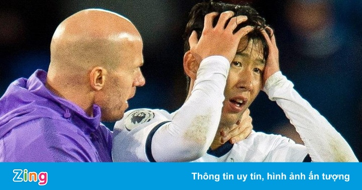 Son Heung-min tắt điện thoại sau trận gặp Everton
