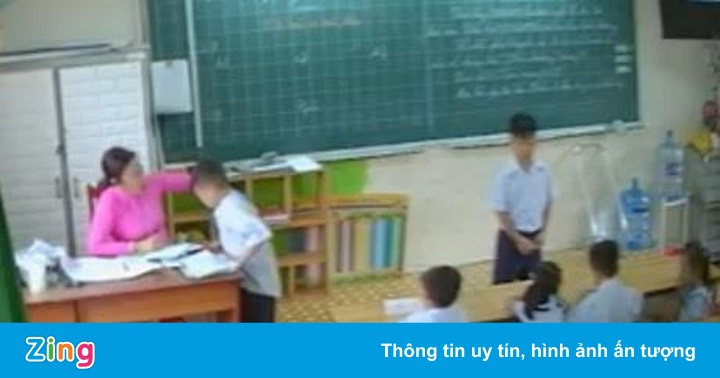 Cô giáo đánh nhiều học sinh lớp 2 tại TP.HCM bị buộc thôi việc