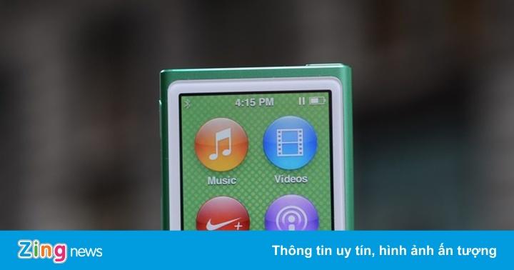 Chiếc iPod nano cuối cùng vừa bị khai tử