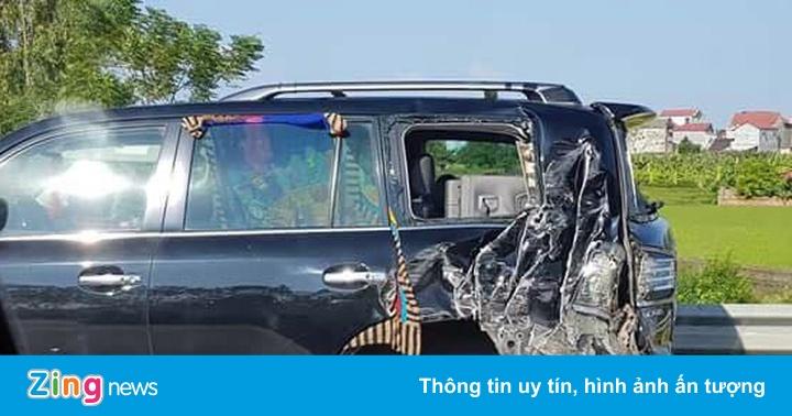 Hiện trường vụ tài xế Lexus bị tông chết khi dừng xe trên cao tốc