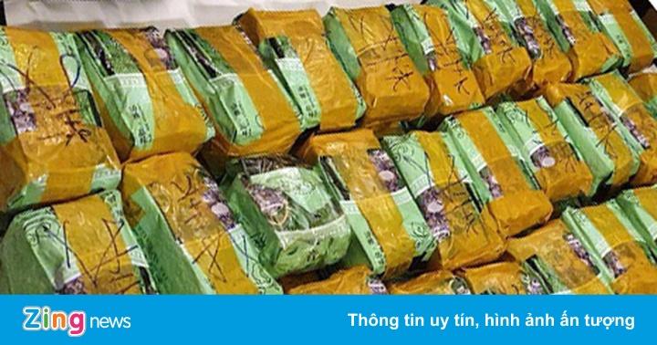 Hơn trăm cảnh sát truy xét nhóm buôn gần 500 kg ma túy