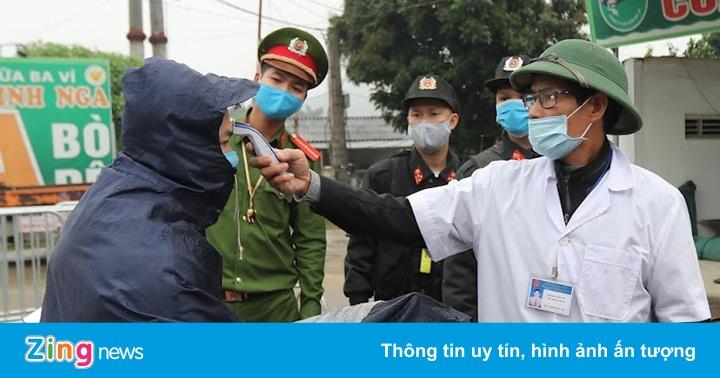 Hơn 10.000 người được kiểm soát tại các cửa ngõ Hà Nội