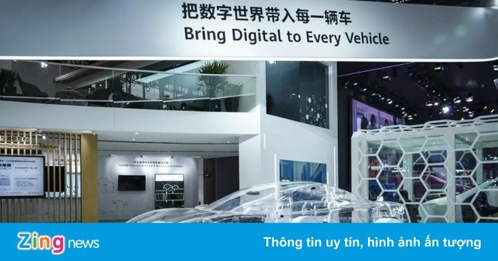 Bị Mỹ cấm vận, Huawei kỳ vọng vào mảng xe thông minh