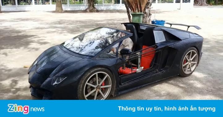 Nông dân Thái Lan chế tạo Lamborghini Aventador Roadster nhái