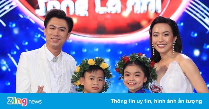Bị gán mác 'ca sĩ hội chợ', Hồ Việt Trung đưa học trò trở thành quán quân Tuyệt đỉnh song ca nhí