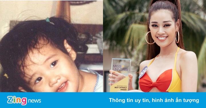 Ảnh thời thơ ấu của dàn người đẹp Hoa hậu Hoàn vũ 2019
