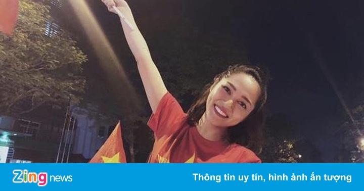 Bảo Anh cùng dàn sao Việt hào hứng trước bàn thắng của Văn Hậu