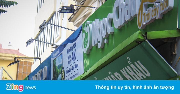Mô hình ''đồng phục'' biển hiệu ở Hà Nội thất bại sau 2 năm thử nghiệm