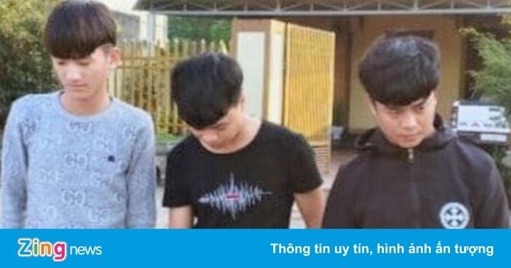 Bắt 3 thanh niên lừa bán khẩu trang trên Facebook