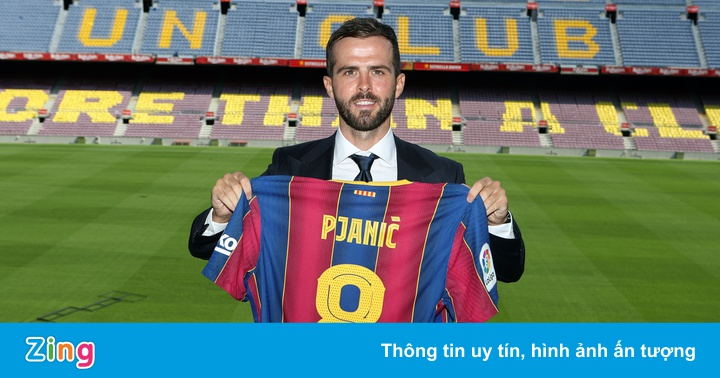 Miralem Pjanic ra mắt tại CLB Barcelona