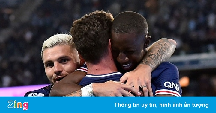 PSG thắng trận đầu tiên mùa này