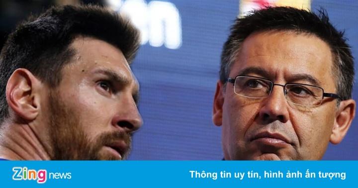 Chủ tịch Barca lên tiếng khi bị Messi chỉ trích