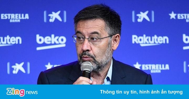 Lãnh đạo La Liga chỉ trích chủ tịch Barca