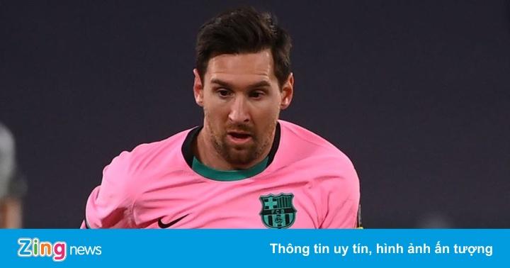 Juventus 0-2 Barcelona: Messi ghi bàn quyết định