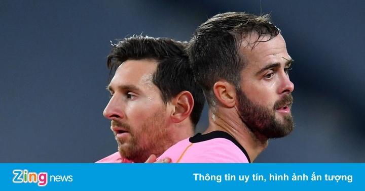 Messi giúp Barca thắng thuyết phục Juventus
